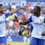 Real Zaragoza striker Raphael Dwamena happy to rediscover goal scoring form