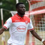 VIDEO: Nana Ampomah scores as Fortuna Düsseldorf clobber Kaiserslautern to reach German Cup quarters