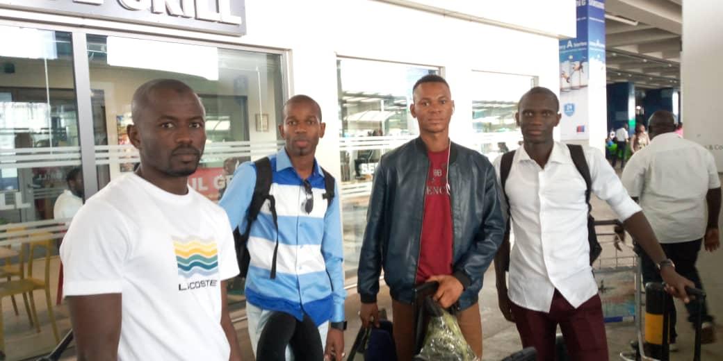 CAF Confed Cup: Senegalese match officials arrive for AshGold-RS Berkane clash