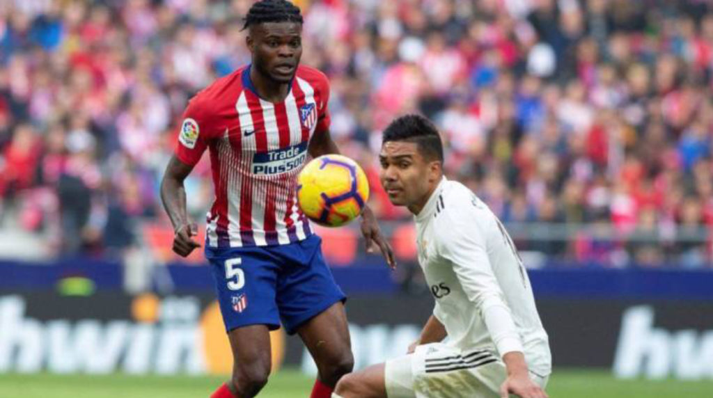 Atletico Madrid to increase €50m clause on Ghana star Thomas Partey