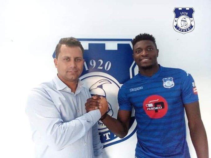 Albanian top flight side KF Teuta sign Ghanaian forward Abdul Basit Khalid