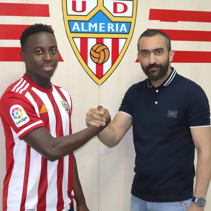 Almeria register record signing Arvin Appiah to team B
