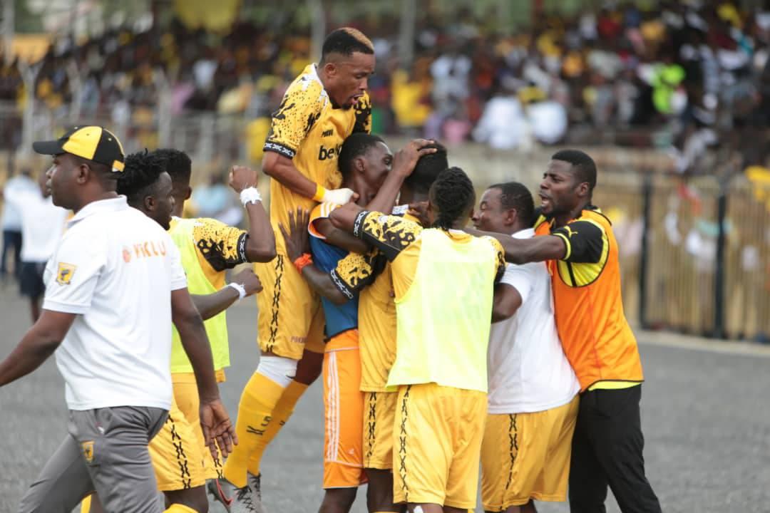 CAF Confederation Cup: Ashantigold beat RS Berkane in a five goal thriller to earn first leg advantage