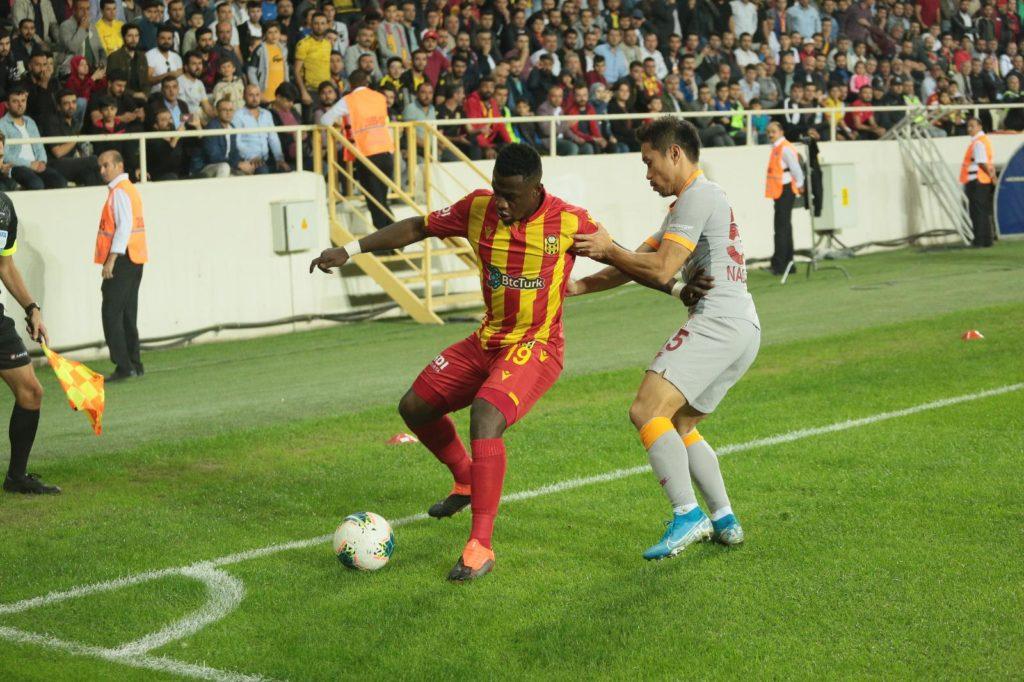 Anchorman Afriyie Acquah improves statistics in Yeni Malatyaspor draw with Galatasaray
