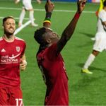 VIDEO: Former Kotoko striker Elvis Amoh scores and named Man of the Match in Loudon United big win in USL