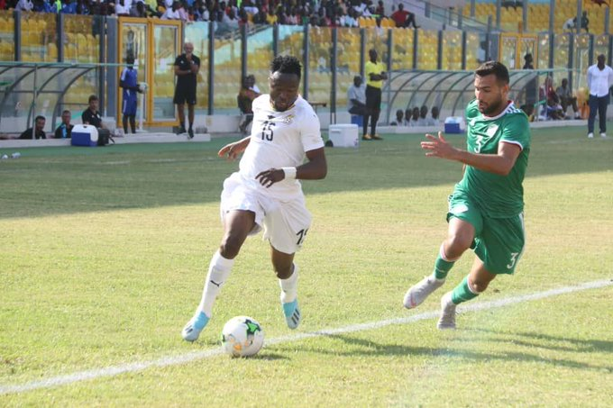 Black Meteors forward Bernard Tekpetey confident of CAF U-23 qualification despite draw against Algeria