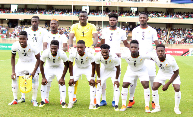 Ghana drops in FIFA ranking for the month of September