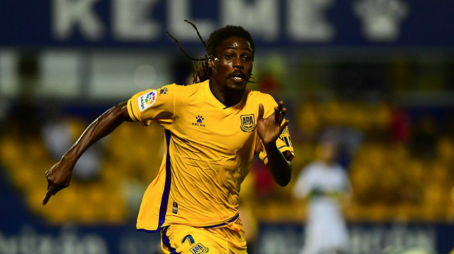 AD Alcoron midfielder Richard Boateng suspended for the game against Cádiz tonight