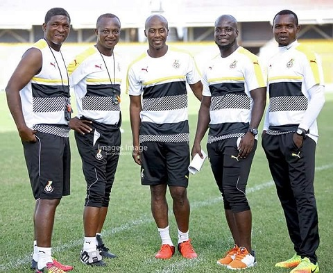 Ghana coach Kwesi Appiah swats FALSE reports to sack assistant Ibrahim Tanko and Stephen Appiah