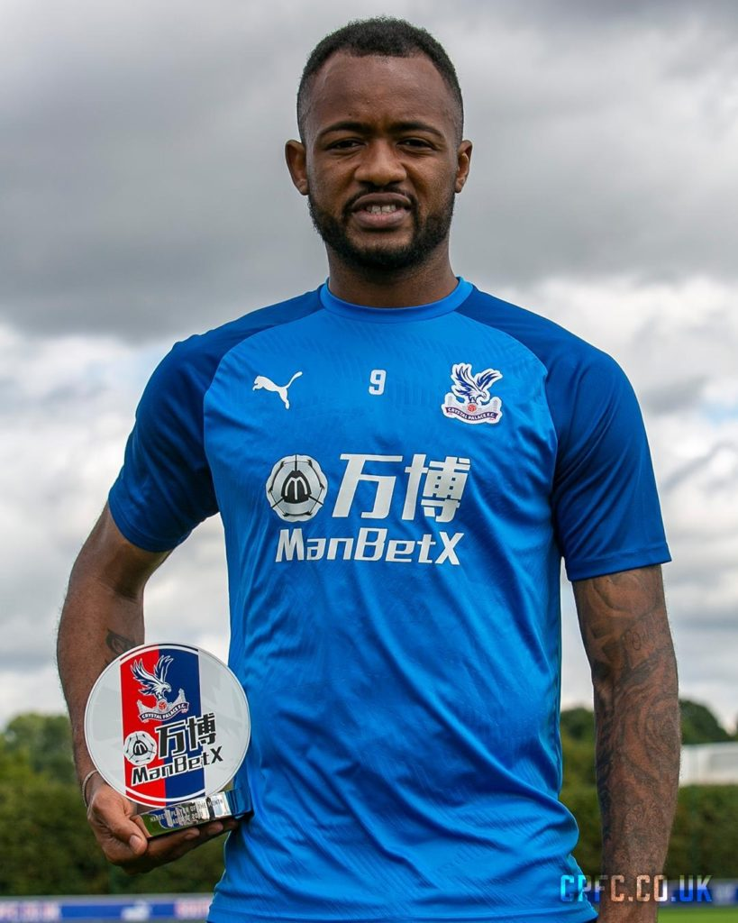 Jordan Ayew voted Crystal Palace player for the month of August