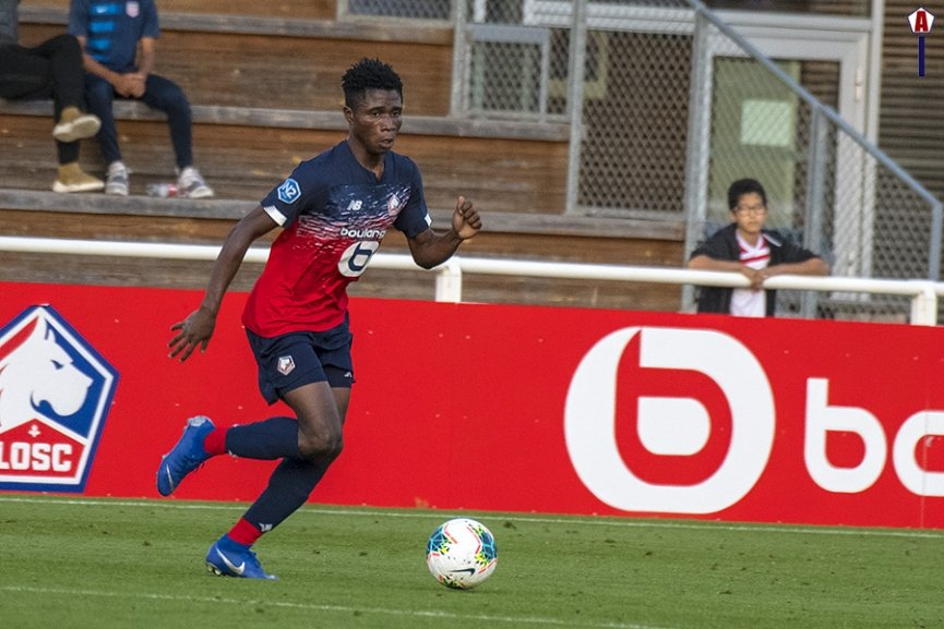Ghanaian teen Nana Antwi marks Lille debut in draw against Epinal FC
