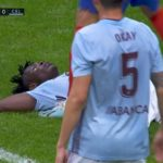 Joseph Aidoo plays through pain barrier to help Celta Vigo hold Partey's Atletico Madrid
