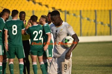 Dauda Mohammed revels in Black Meteors win over Algeria
