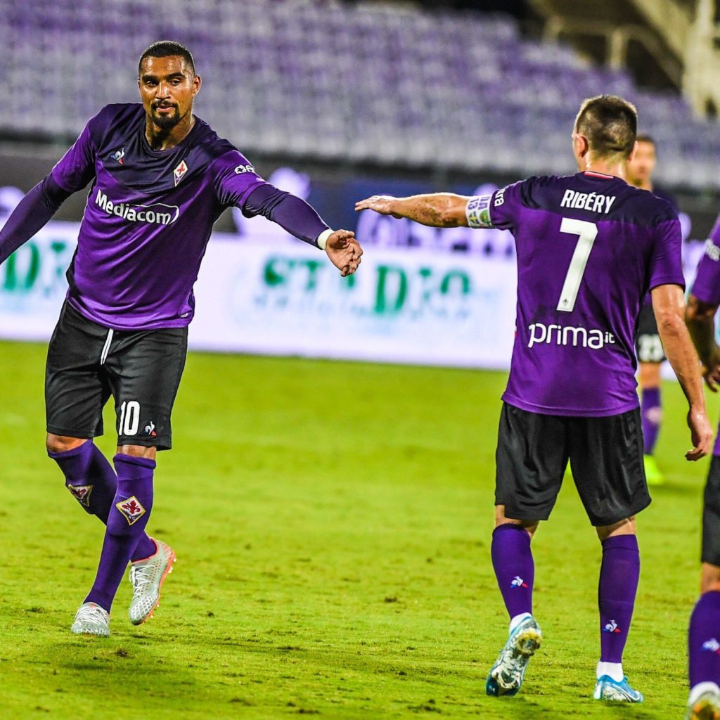 Kevin-Prince Boateng on target as Fiorentina smash Virtus Entella in friendly