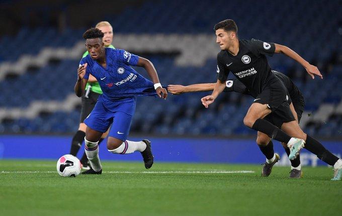 Callum Hudson-Odoi marks injury return as Chelsea U-23 beat Brighton