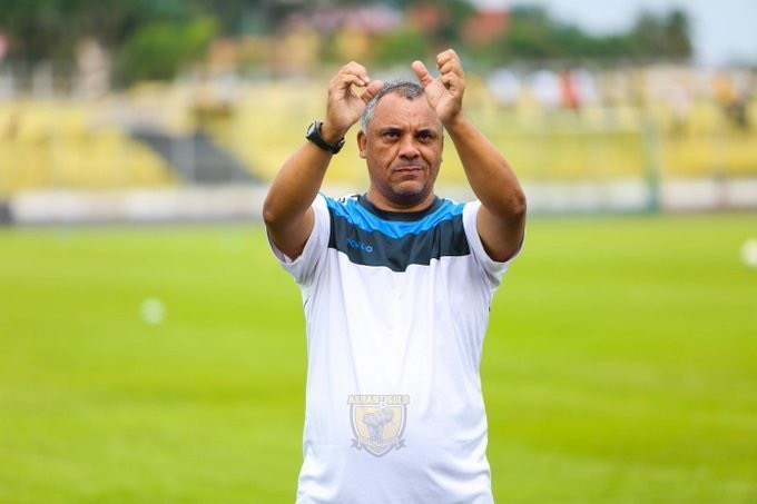 CAF Confederation Cup: AshantiGold coach Ricardo Da Rocha disappointed with first leg result against RS Berkane