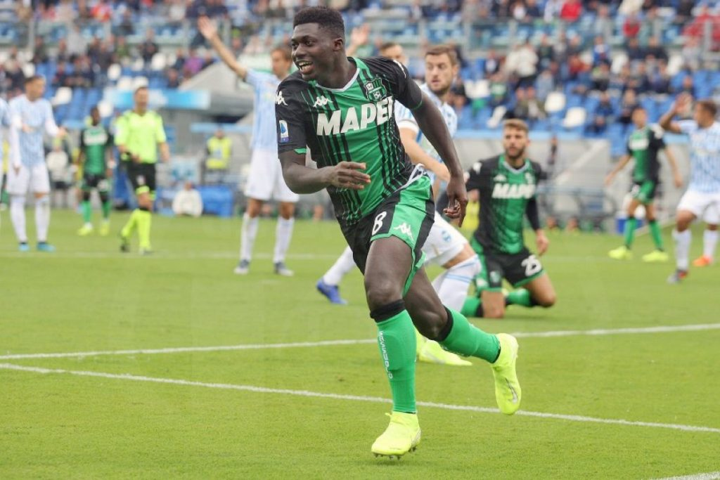 Ghana's Alfred Duncan rated among top three Sassuolo players