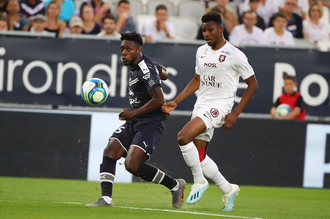 Bordeaux defender Enock Kwateng delighted with victory against FC Metz