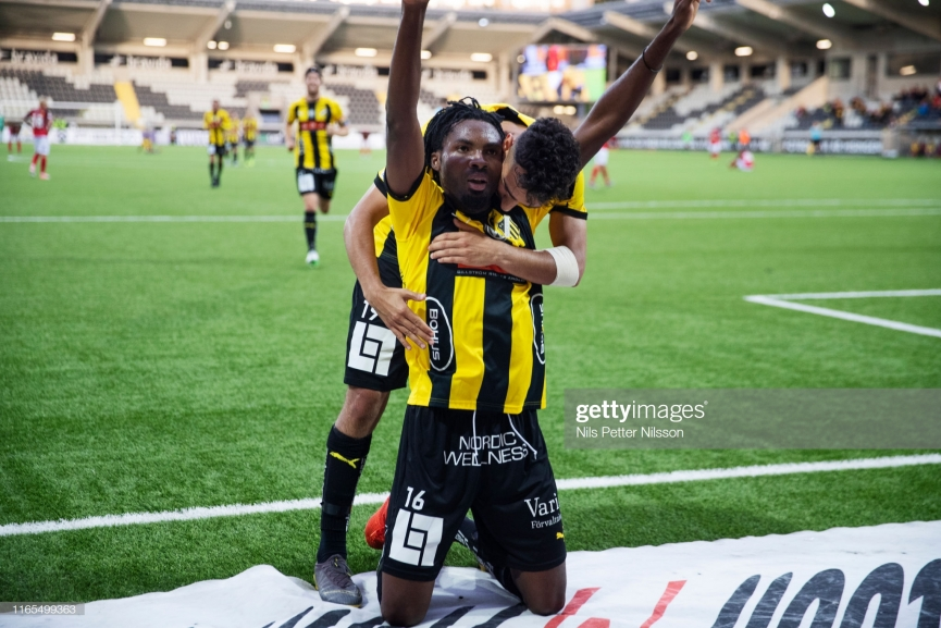 Kwame Kizito strikes late to salvage point for BK Hacken against Kalmar