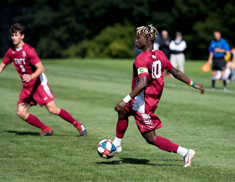 FEATURE: Taft's Bawa has come a long way from his soccer roots in Ghana