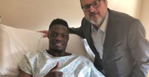 Trabzonspor striker Caleb Ekuban undergoes successful operation in Italy set to be sidelined for two months