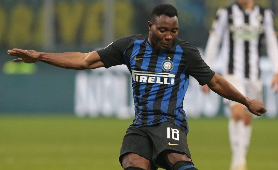 Kwadwo Asamoah hails Inter Milan\'s mentality after Udinese win