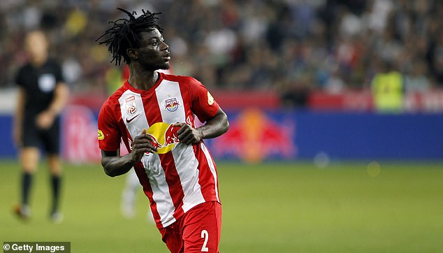 Red Bull Salzburg-owned Gideon Mensah: Barcelona wanted to sign me