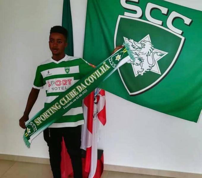 Former WAFA SC kid Inusah Adams scores brace for Sporting Club da Covilha 'B'