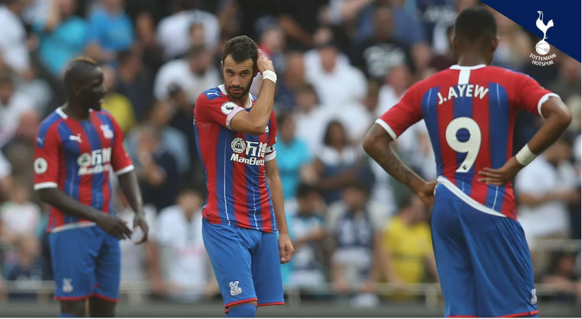 Ayew, Schlupp feature as Crystal Palace suffer brutal defeat to Tottenham