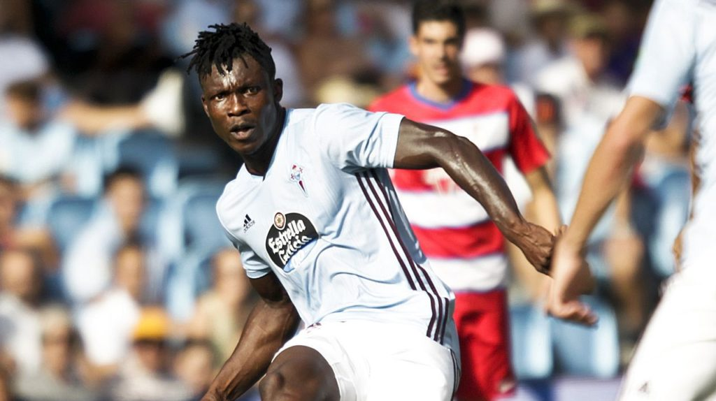 Joseph Aidoo nominated for Celta Vigo's Player of the Month award for September