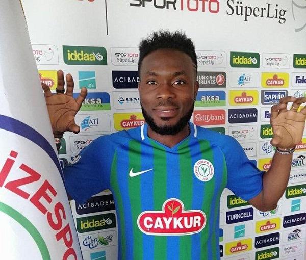 Coronavirus in Ghana: Black Stars midfielder Attamah Larweh donates to two Orphanage homes in Tema