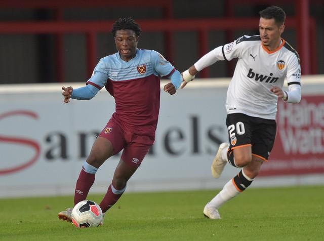 Ghanaian youngster Keenan Appiah Forson stars as West Ham U-23 pip Valencia in Premier League International Cup