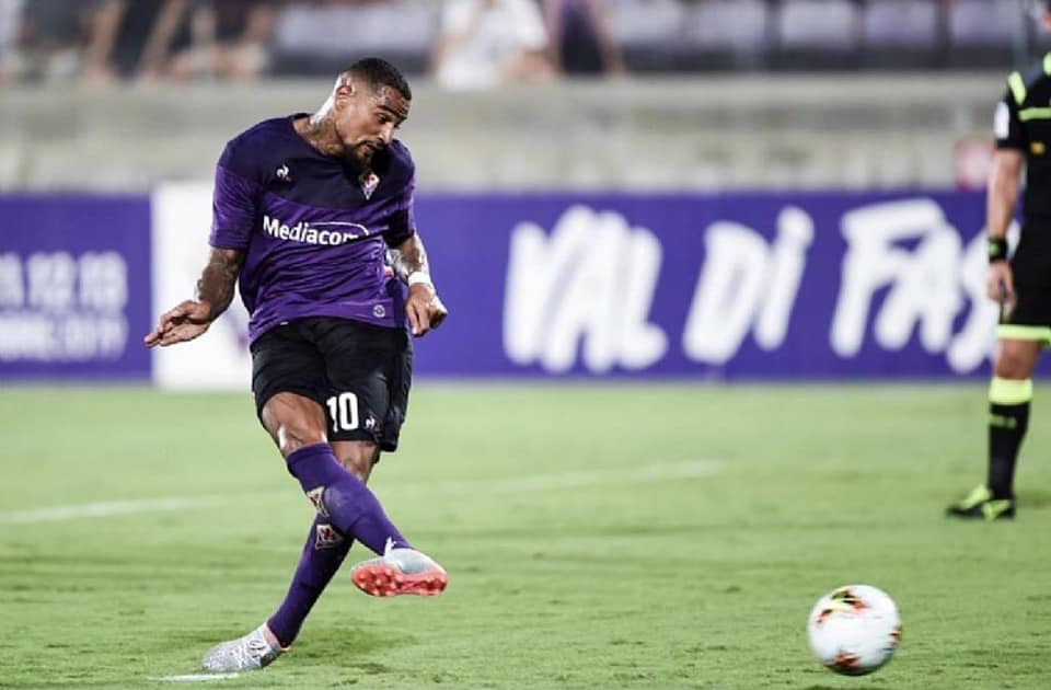 K.P Boateng elected to take Fiorentina's penalties this season