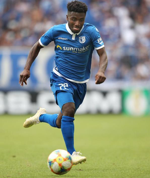Kaiserslautern is like home to me- FC Magdeburg midfielder Manfred Osei