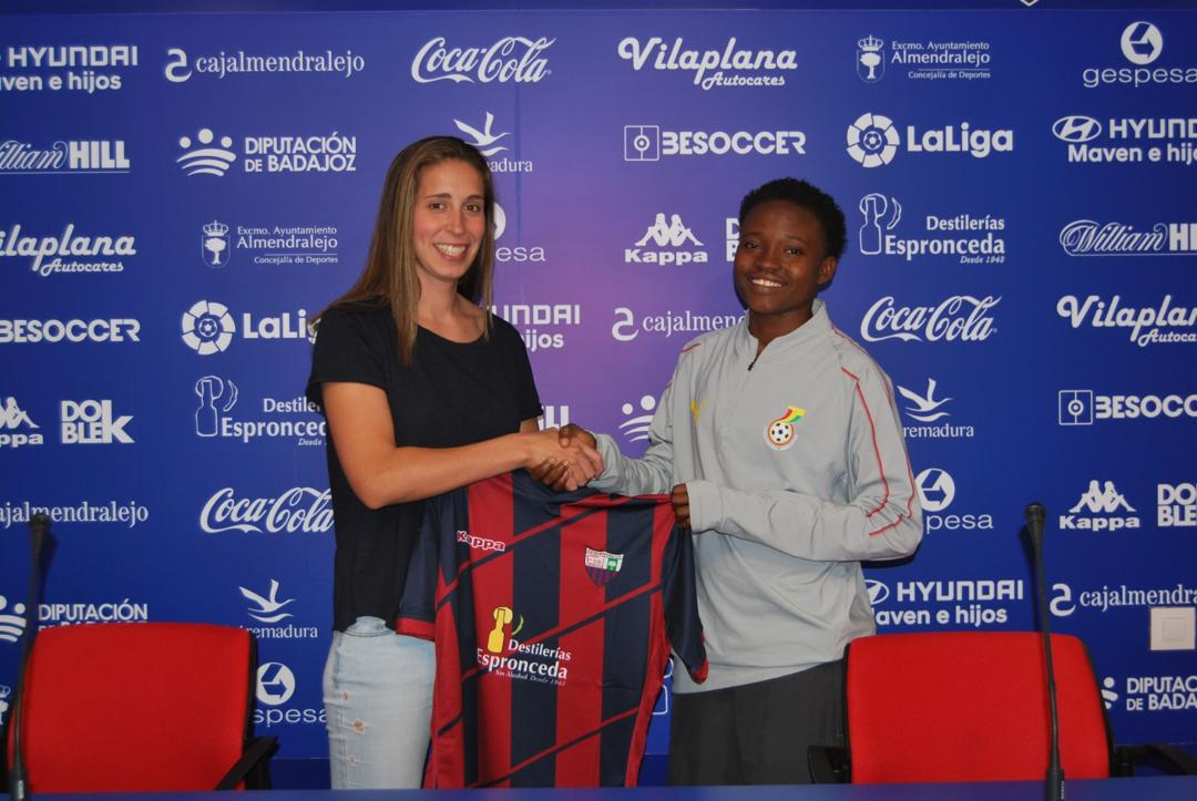 Former Black Princesses midfielder Lily Lawrence joins Spanish side Extramendura UD Feminine