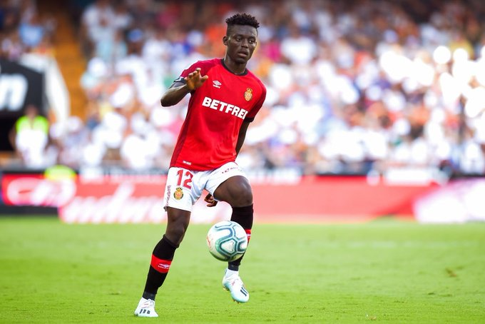 Ghanaian youth midfielder Iddrisu Baba scores own goal in Real Mallorca defeat at Getafe