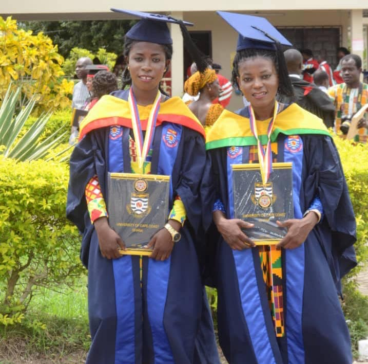 Lady Strikers FC trio graduate with degrees from University of Cape Coast