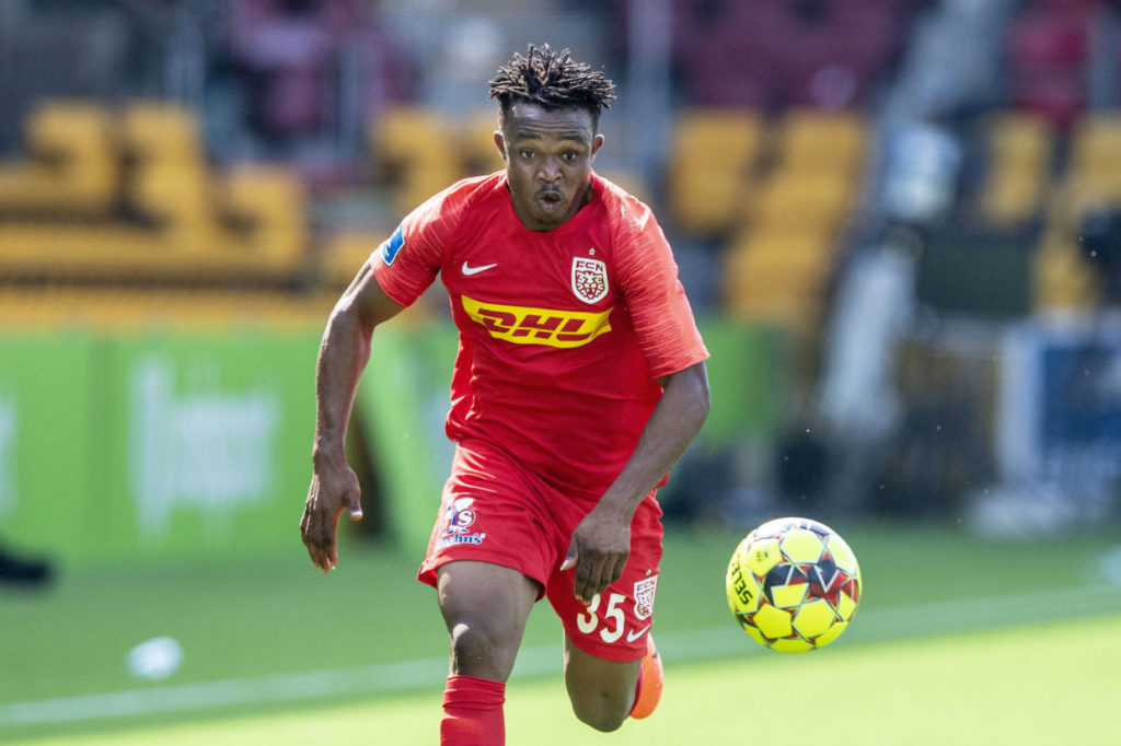 VIDEO: Isaac Atanga's stunning goal for Nordsjaelland against Brondby