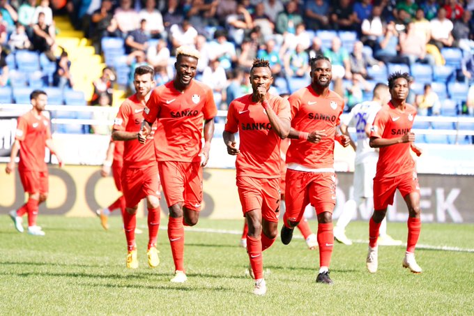 Patrick Twumasi scores for the third week running as Gaziantep win at Joseph Attamah's Rizespor