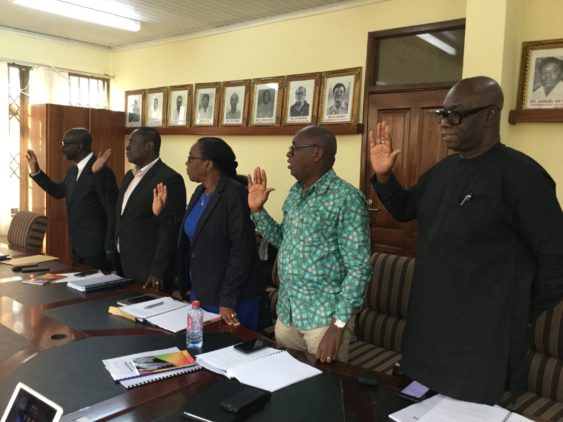 Ghana FA Elections: Vetting Committee for upcoming GFA elections inaugurated