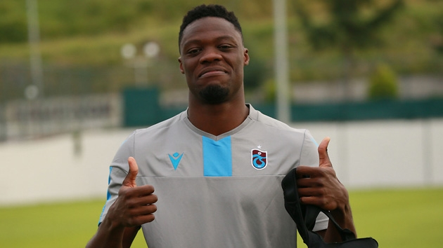 VIDEO: Trabzonspor live-wire Caleb Ekuban inches closer to full fitness