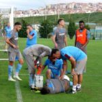 VIDEO: Ghana striker Caleb Ekuban picks SERIOUS injury; set to be sidelined for SIX weeks