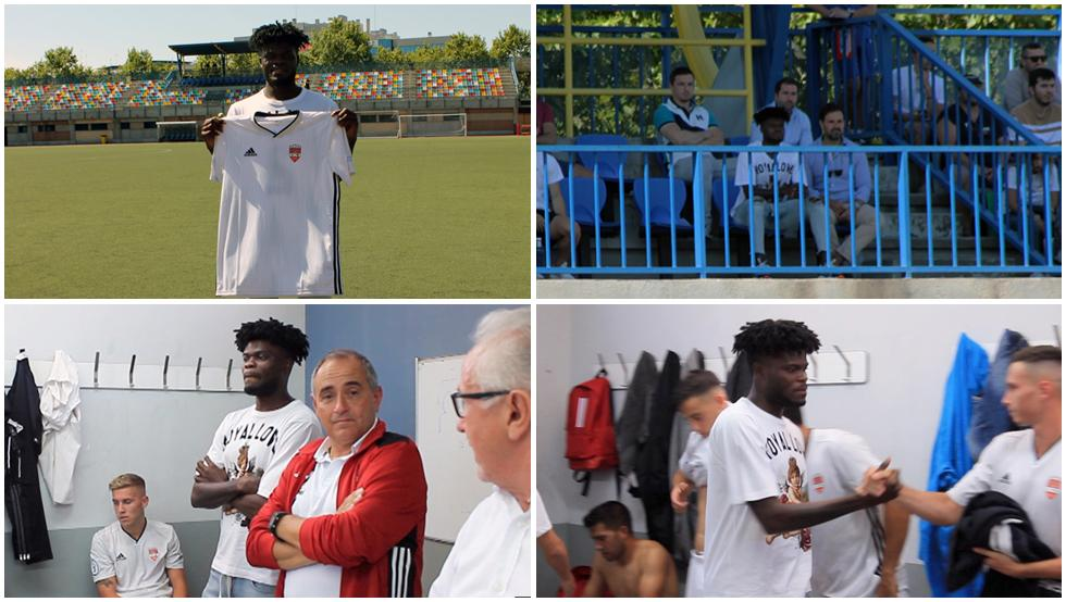 Breaking News: Ghanaian midfielder Thomas Partey buys Spanish football club Alcobendas