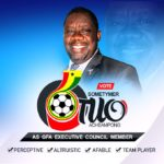 The four cogent underlying points of Sometymer Otuo Boadaa Acheampong's vision for GFA Executive Council