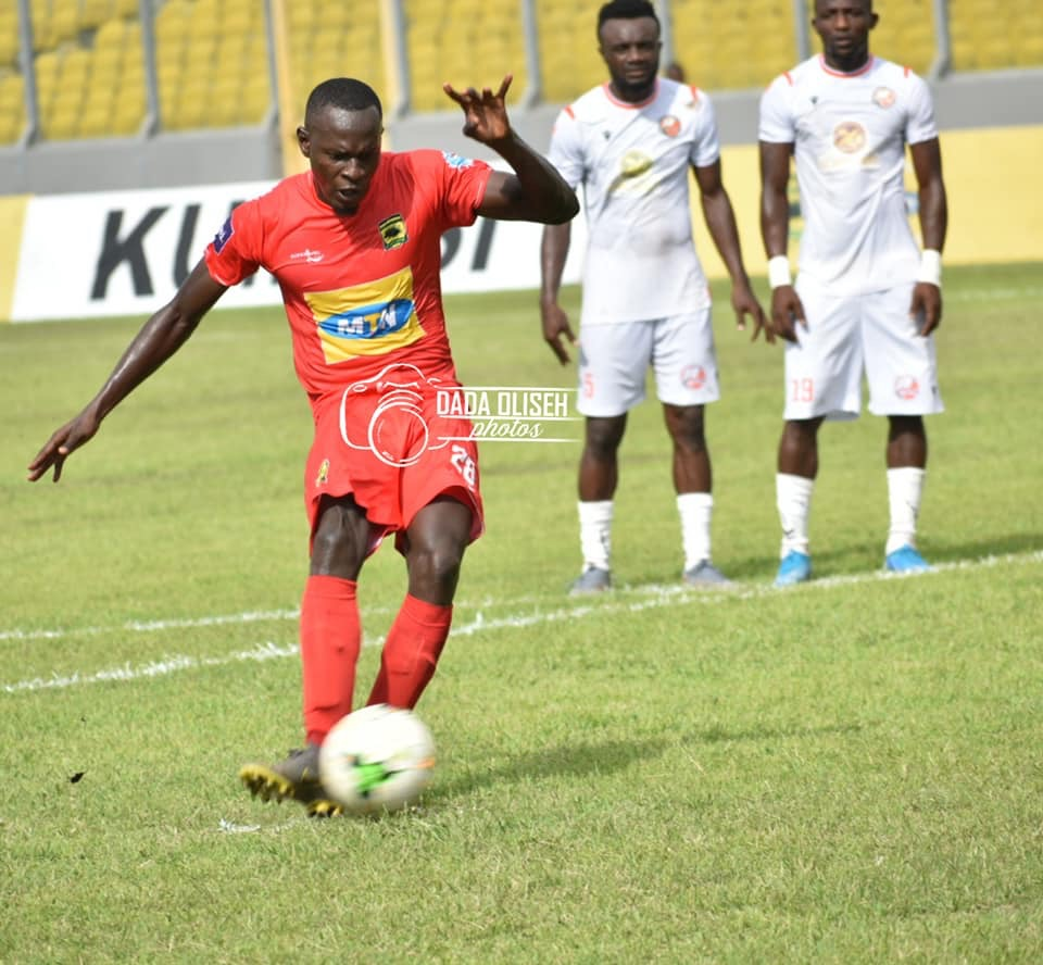 VIDEO: Asante Kotoko score late penalty to beat San Pedro in CAF Confederation Cup