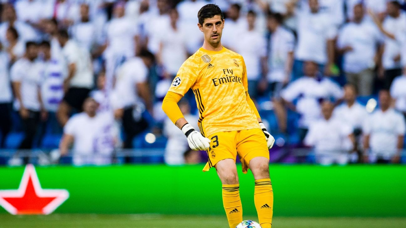Real Madrid deny reports Thibaut Courtois suffered anxiety vs. Club Brugge