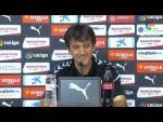 Rueda de prensa de  Pacheta tras el Girona FC vs Elche CF (0-2)