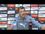 Rueda de prensa de  Juan Carlos Unzué tras el Girona FC vs Elche CF (0-2)
