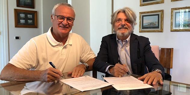 Sampdoria appoint Ranieri