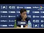 Rueda de prensa de  Víctor Sánchez del Amo tras el Málaga CF vs Cádiz CF (1-2)
